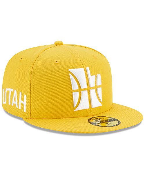 New Era Utah Jazz City Series 59FIFTY Fitted Cap