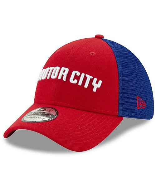 New Era Detroit Pistons City Series 39THIRTY Cap