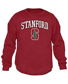 Men's Stanford Cardinal Midsize Crew Neck Sweatshirt