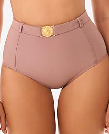 Simba Pin Up Belted Medallion Tummy Control Bottom