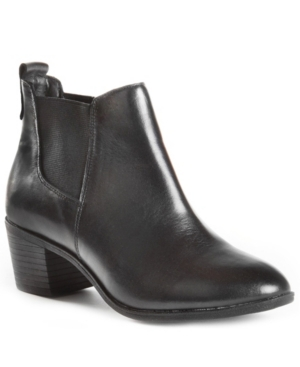 Sienna Women's Waterproof Leather Chelsea Bootie Women's Shoes