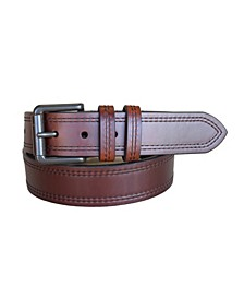 Men's Double Haul Oil Tanned Harness Leather Casual Jean Belt