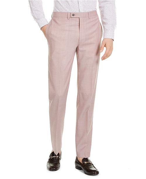 Calvin Klein Men's X-Fit Slim-Fit Infinite Stretch Suit Separate Pants