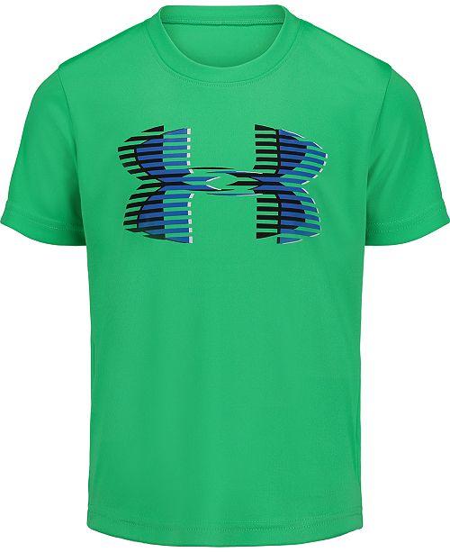 Under Armour Toddler Boys Logo-Print T-Shirt