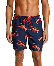 "Men's Lobster 7"" Swim Trunks, Created for Macy's"