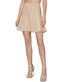 Flounce A-Line Skirt