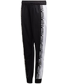 Big Boys Originals Colorblocked Logo Tape Track Pants