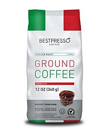 Italian Roast Flavor Ground Coffee, 3 pack of 12oz Bag