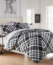 Poppys Plaid Full/Queen Comforter Set