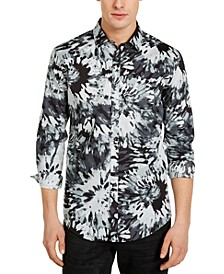 INC Men's Watercolor Floral Shirt, Created for Macy's