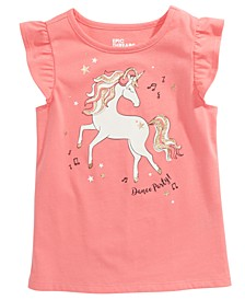 Little Girls Dancing Unicorn T-Shirt, Created For Macy's