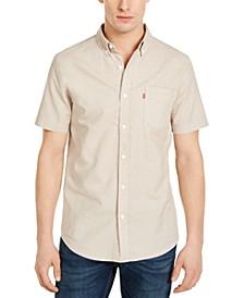 Men's Chambray Button-Down Shirt