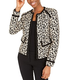 Love Me Leopard-Print Jacket