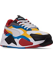 Men's RS-X3 Puzzle Casual Sneakers from Finish Line