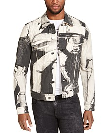 Men's Dillon Printed Denim Jacket