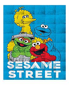 Sesame Street 4.5lb Weighted Blanket