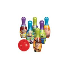 What Kids Want Disney Pixar Toy Story 4 Bowling Set - Indoor/Outdoor