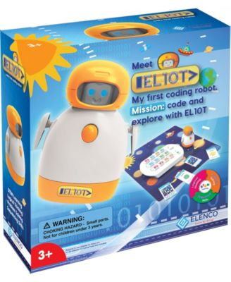 Elenco/Edu Toy El10T: My First Coding Toy Robot