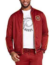 Men's Zip-Front Logo Jacket