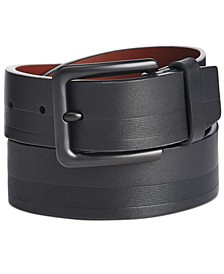 Men's Embossed Casual Belt