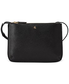 Faux Pebble Leather Carter Crossbody
