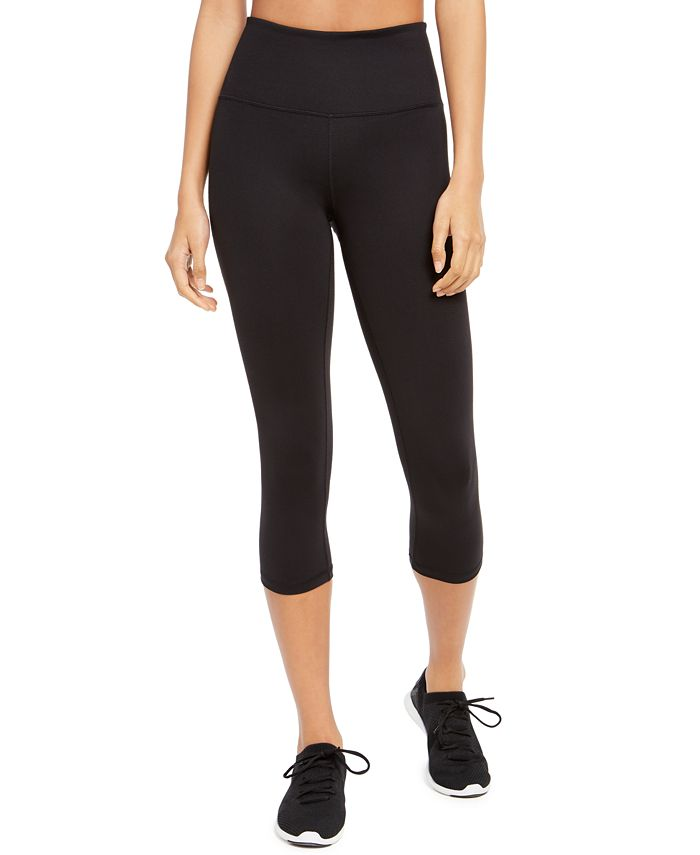 Ideology - High-Waist Capri Leggings