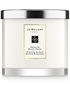Peony & Blush Suede Deluxe Candle, 21.2-oz.