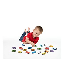 21 Piece Realistic Die Cast Car Collection Play Set