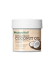 Extra Virgin Coconut Oil Moisturizing Cream, 10 oz