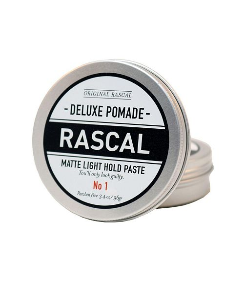 Rascal Deluxe Pomade 1, Matte Look or Light Hold, 3.4 oz