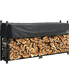 Ultra Duty Firewood Rack with Cover