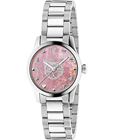 Women's Swiss G-Timeless Stainless Steel Bracelet Watch 27mm