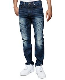 Men's Breaker Slim-Fit Moto Jeans