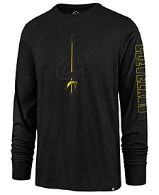 '47  Brand Men's Cleveland Cavaliers Color Pop Super Rival Long Sleeve T-Shirt