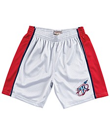 Men's Houston Rockets Platinum Swingman Shorts