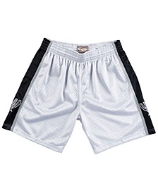 Men's San Antonio Spurs Platinum Swingman Shorts