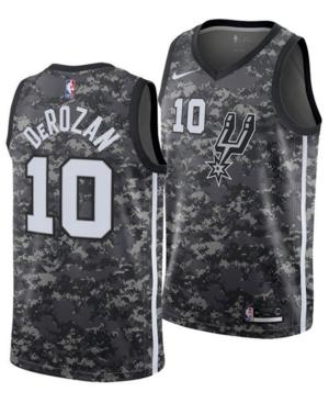Nike Men's DeMar DeRozan San Antonio Spurs City Edition Swingman Jersey