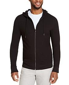 Men's Zip-Front Terry Hoodie, Created For Macy's