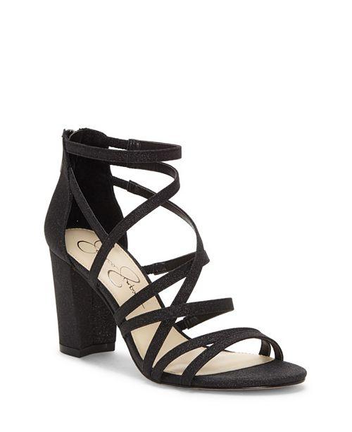 Jessica Simpson Stassey Block Heel Dress Sandals