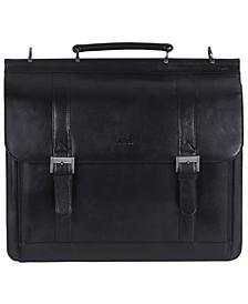 Signature Collection Double Compartment Laptop Briefcase
