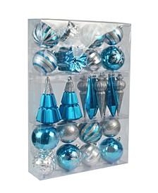 Christmas Ornament Set, 27 Piece