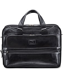 Vanizia Collection Top Zippered Triple Compartment Laptop and Tablet Briefcase
