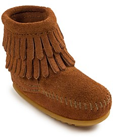 Baby Girls Double Fringe Boot