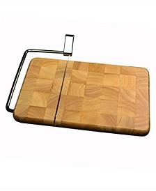 Butcher Block Cheese Slicer