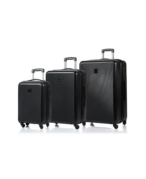 CHAMPS Iconic Hardside 3-Pc. Luggage Set