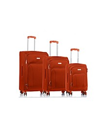 3-Pc. Travelers Softside Luggage Set