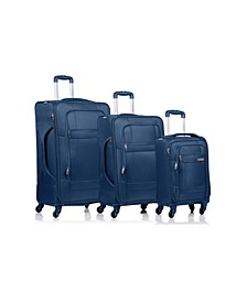 3-Pc. Pacific Softside Luggage Set