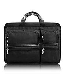 "Hubbard, 15"" Double Compartment Laptop Briefcase"