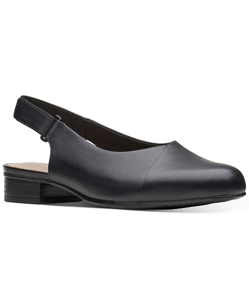 Clarks Collection Women's Julliet Pull Slingback Dress Shoes