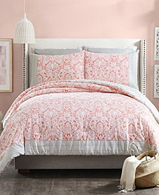 Coral Gables 3-Piece Full/Queen Comforter Set